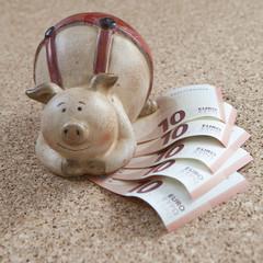 argent billets d'euro