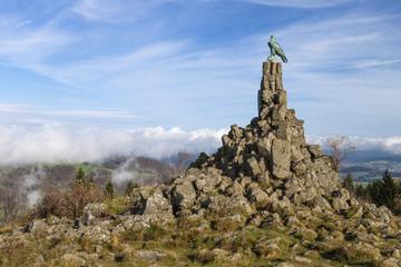 Fliegerdenkmal auf der Wasserkuppe © Matthias Buehner