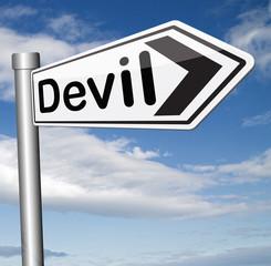devil temptation