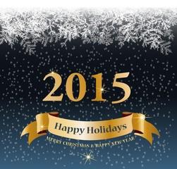 bonne année 2015.