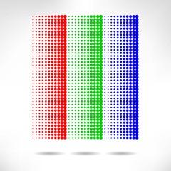Design set of vertical modern backgrounds