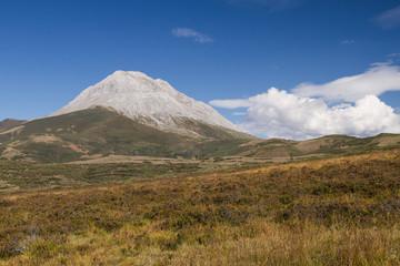Pradera y Pico Espigüete. Montaña Palentina.