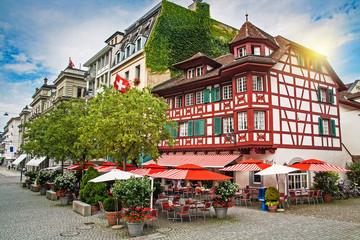 Street in Lucerne, Switzerland