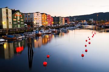 Abend in Trondheim