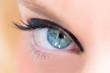 canvas print picture - Das menschliche Auge