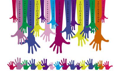 Manos unidas-solidaridad