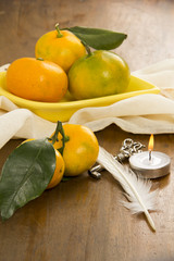 Tangerine and Objects