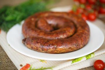 sausage fried
