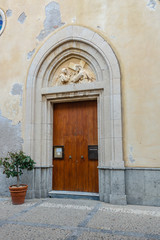 Cefalú Kirchentür