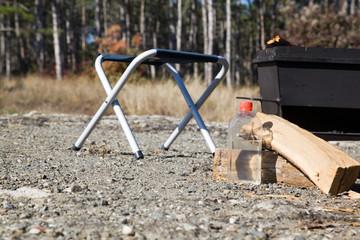 Preparing for a picnic