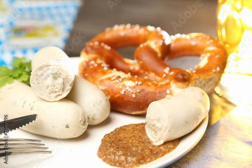 Aluminium Snack Bayrisches Weißwurstfrühstück