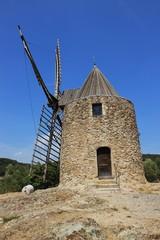 Moulin à vent de Saint-Roch.