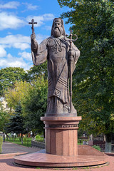 Monument of Metropolitan Eugene (Hakman) in Chernivtsi, Ukraine