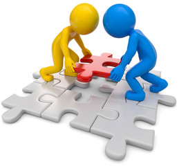 Partner Teamwork, Puzzle