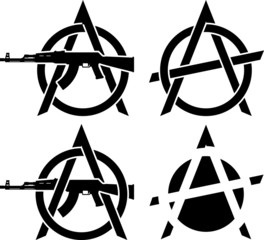 Symbols of anarchy