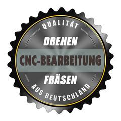 ql83 QualityLabel - Drehen CNC-Bearbeitung Fräsen - black g2060