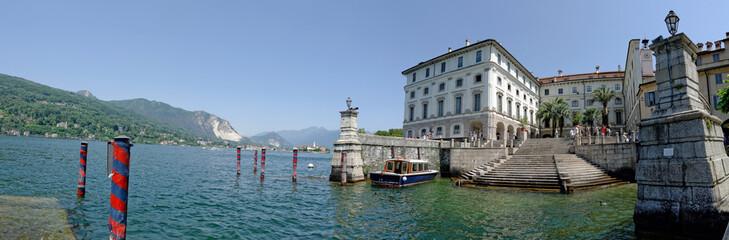 Le port d'Isola Bella sur le lac Majeur