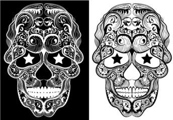 Monochrome Skulls