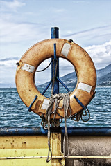 Hung Life buoy