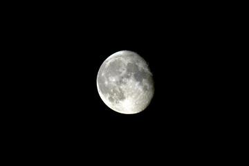 Abnehmender; Mond; Halbmond;