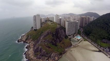 Big Rock in Guaruja, Sao Paulo, Brazil