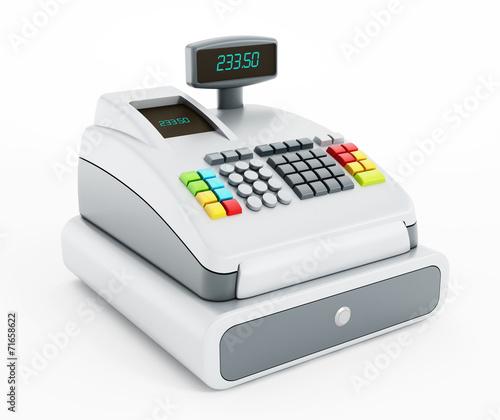 Leinwanddruck Bild Cash register