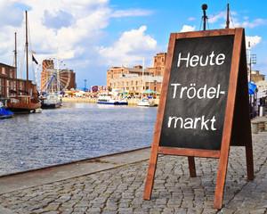 Tafel - Heute Trödelmarkt