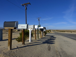 Mailboxes on Amboy Road