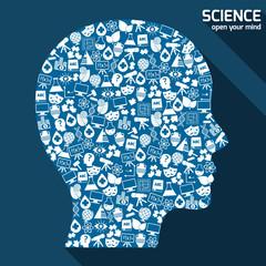 Science areas concept