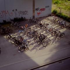 ベルリン、駐輪場