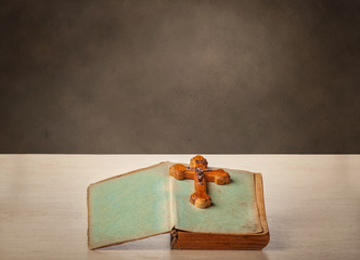 Crucifixion and the old book