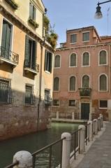 Channel corner in Venice, Italy