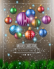 Christmas original modern background template