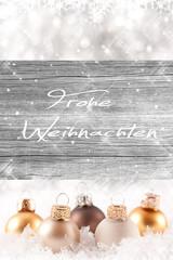Frohe Weihnachten auf Holztextur