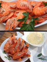Crevettes  Mayonnaise  - Tapas