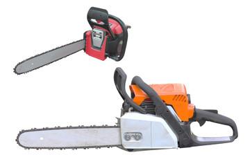 gasoline-powered saw