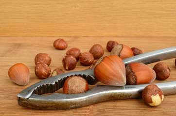 Nuts and nutcracker