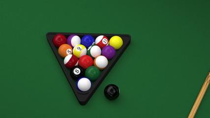 billiard bals full HD