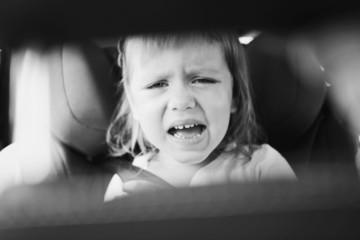 tears in car
