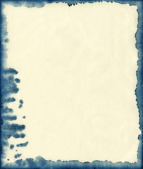 ink stained paper background