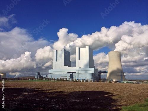 canvas print picture Energieerzeuger