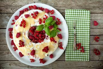 Soft Fruits Semifreddo