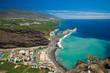 Leinwanddruck Bild - La Palma, view from viewpoint Mirador el Time