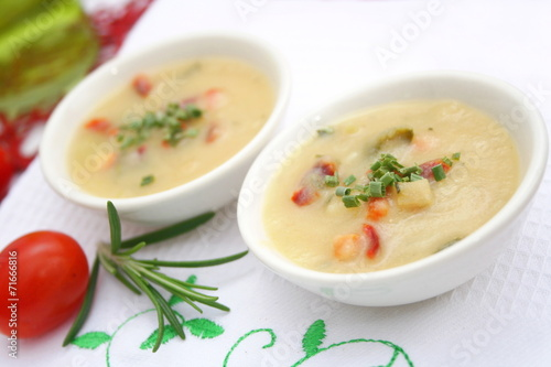 canvas print picture Gemüsesuppe
