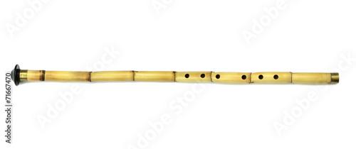 Leinwanddruck Bild Turkish Ney.  Turkish classical sufi music instrument.