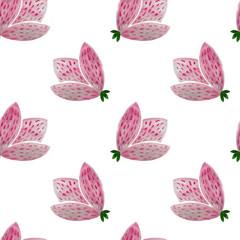 Watercolor seanless floral pattern