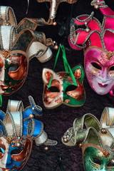 Venetian masks for carnival.