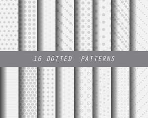 16 dot seamless patterns