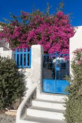Île de Santorin Cyclades Grèce