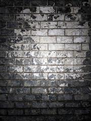 Texture of worn brick